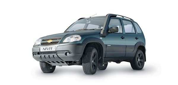Экстерьер новой Chevrolet Niva