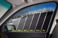 Штраф за тонирование стекол авто в 2018 году