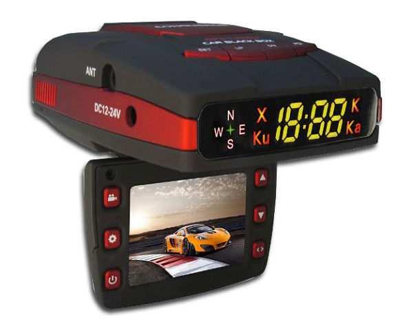 видеорегистратор с антирадаром Conqueror GPS-1380H