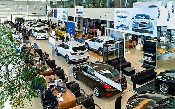 салон по продаже новых машин