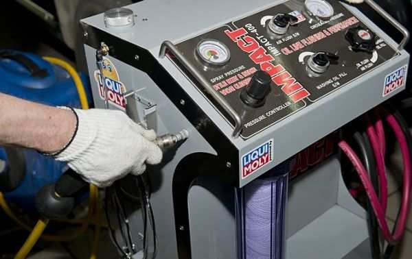 профессиональная аппаратура для промывки