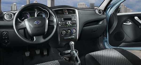 Datsun on-DO интерьер