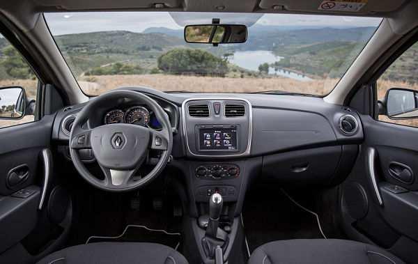 Renault Sandero внутри салона
