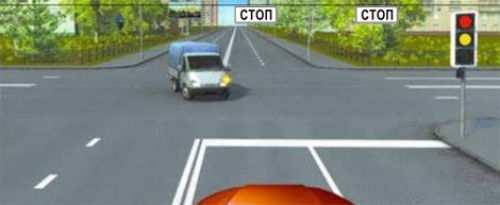 проезд жд переезда без остановки перед знаком стоп
