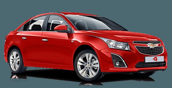 Chevrolet Cruze - пятое место