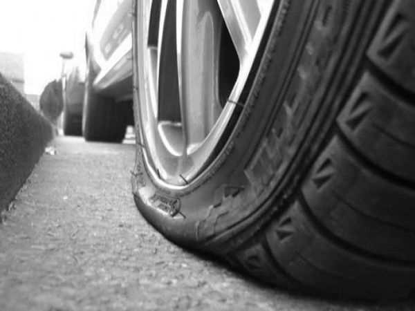 плоская поверхность шины