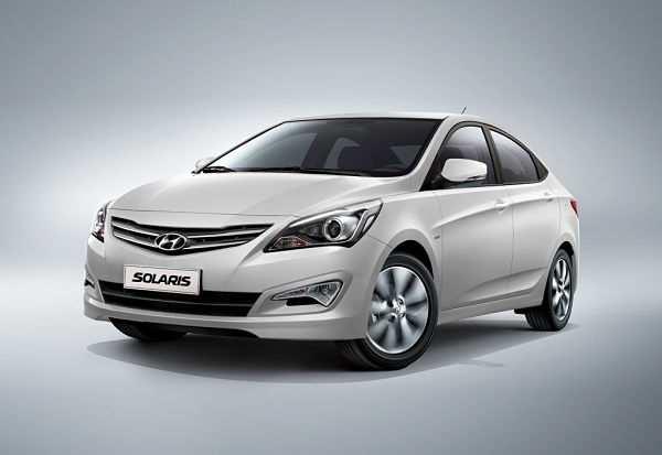 Hyundai Solaris - восьмое место