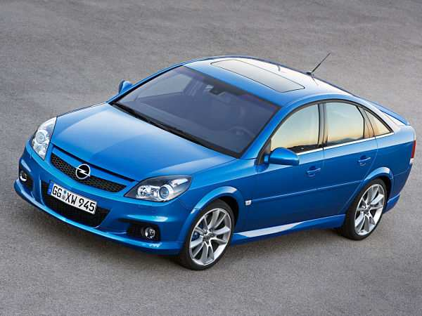 Opel Vectra четвертое место
