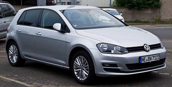 Volkswagen Golf -десятое место