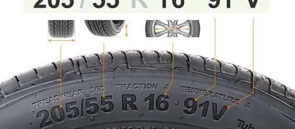 Как узнать, что означают цифры на шинах автомобиля