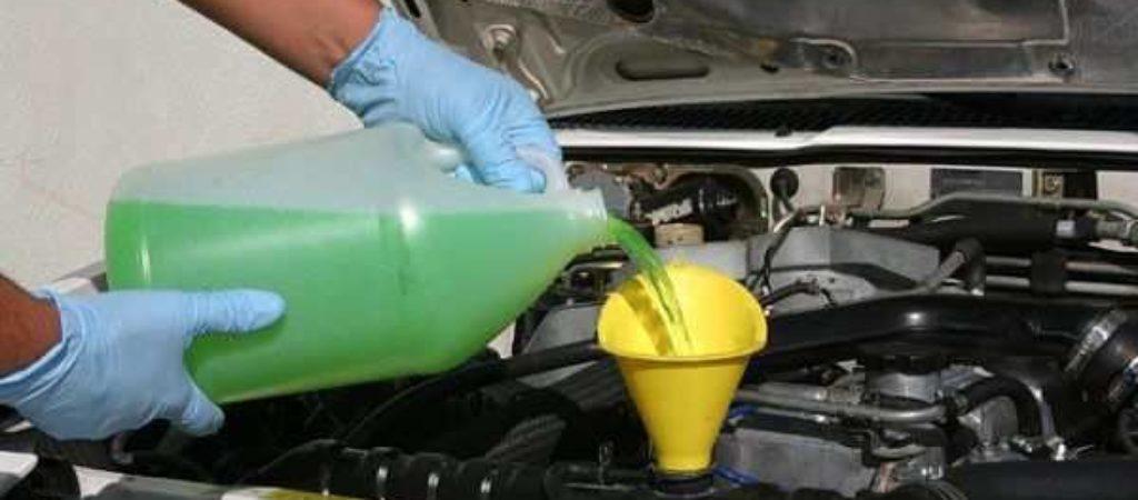 Как делается промывка системы охлаждения двигателя