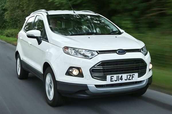 Ford EcoSport для девушки