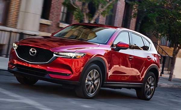женский вариант внедорожника Mazda CX-5