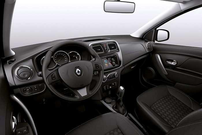 Renault Logan салон