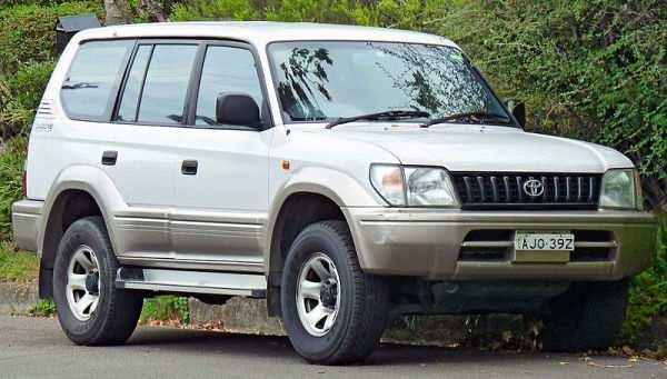 Toyota Land Cruiser Prado третьего поколения
