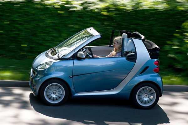 Smart fortwo кабриолет