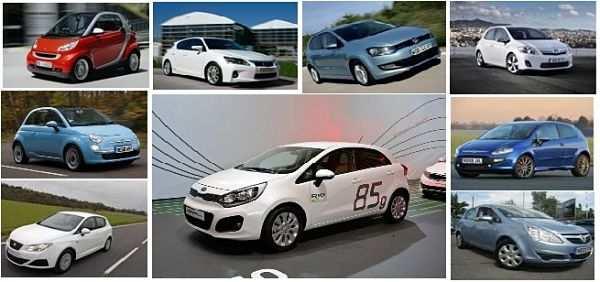 самые экономичные машины - седаны и кабриолеты