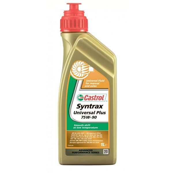 Универсальное трансмиссионное масло Castrol Syntrax Universal Plus