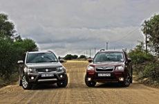 Давид и Голиаф: Suzuki Vitata и Subaru Forester