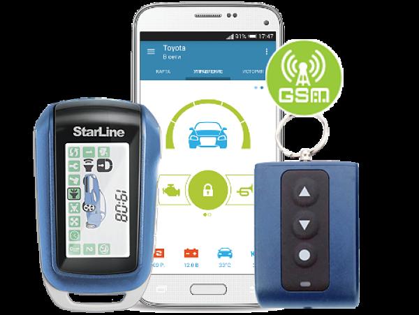 Старлайн A94 GSM модуль