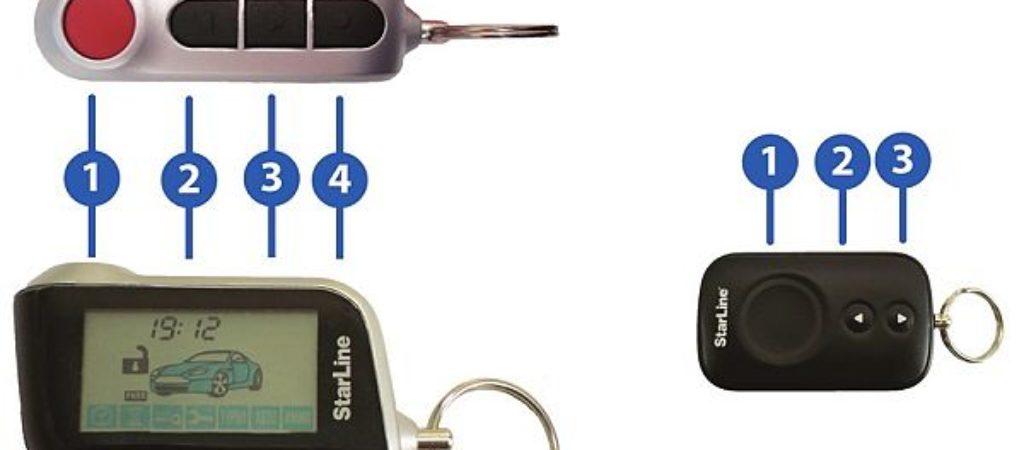 Как открыть багажник машины с помощью брелка Starline A93