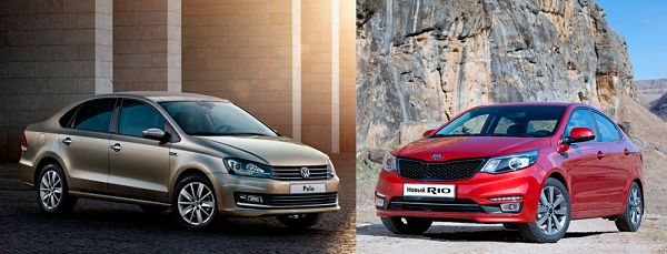 Что лучше - Kia Rio и VW Polo