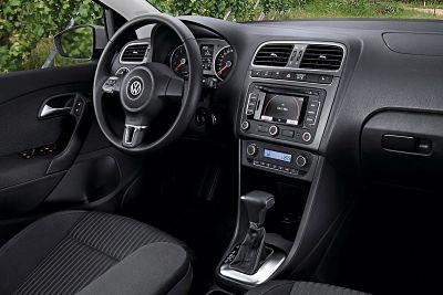 Интерьер салона Volkswagen Polo