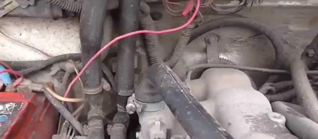 Воздушная пробка в системе охлаждения