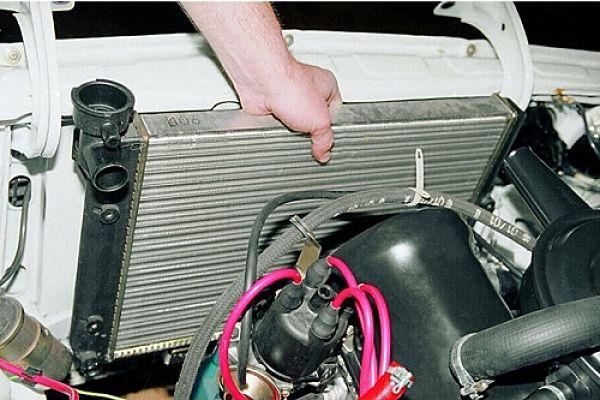 Ремонт радиатора ВАЗ-2107