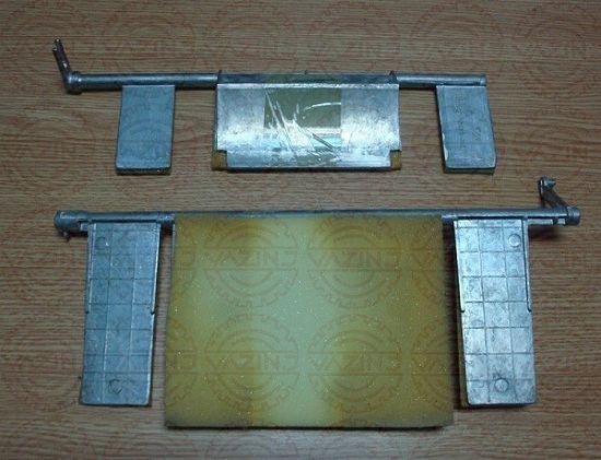 алюминиевые заслонки с рычагом