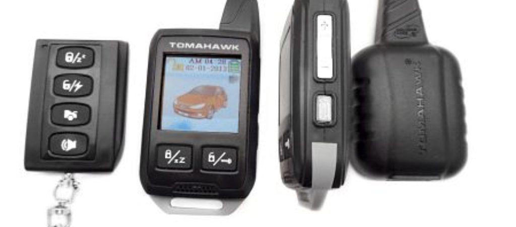 Как настроить брелок автосигнализации Tomahawk