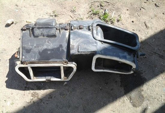 заслонки печки ВАЗ 2110 старого образца
