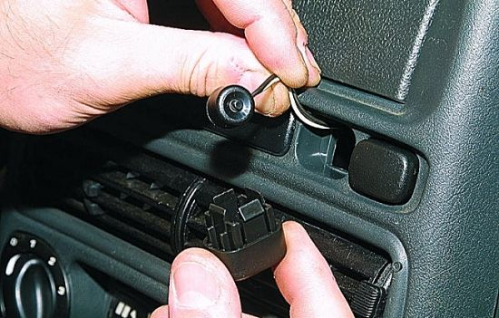 Кнопка аварийного отключения Override