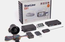 StarLine E91: инструкция по эксплуатации и установке
