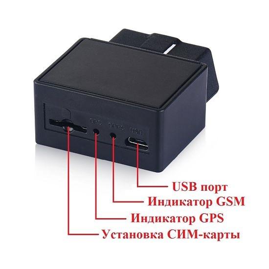 GPS Трекер Маяк T-02