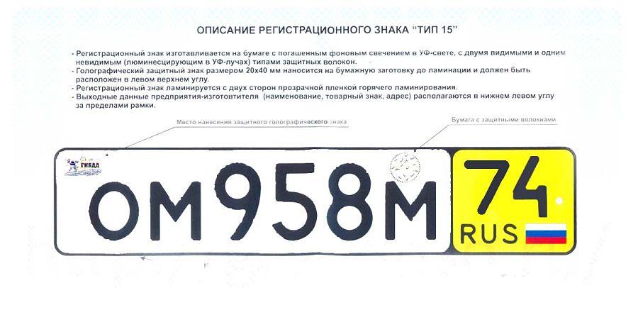 описание транзитных номеров