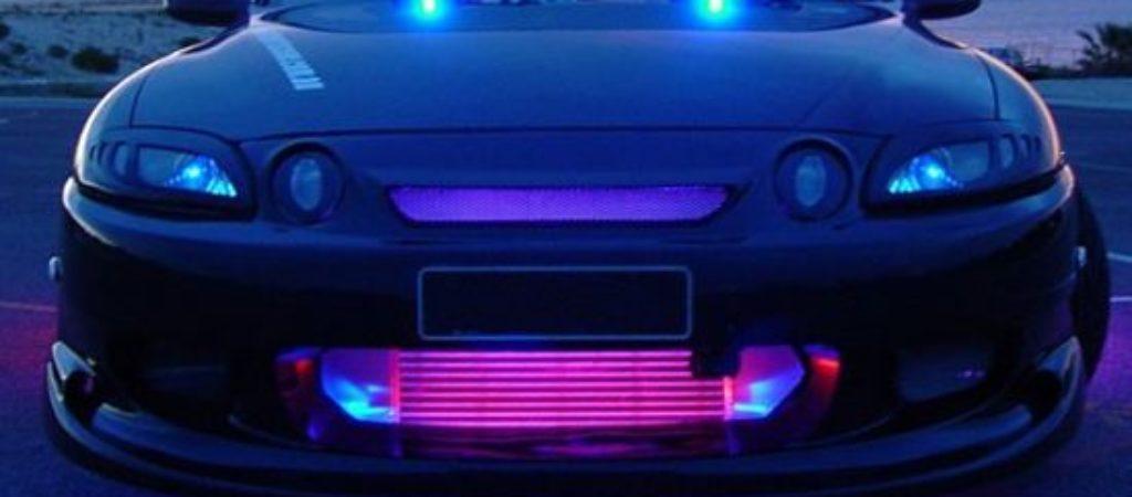 Лишение прав за светодиодные лампы LED в фарах
