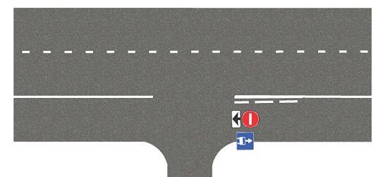 запрещающий знак для автобусной полосы