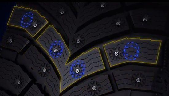 шипованная внедорожная резина X-Ice North 4 от Michelin