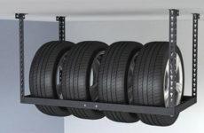 Как хранить летние шины зимой