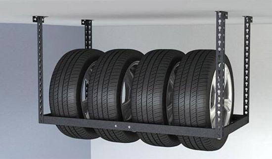 shiny na balkone opt - Хранение летних колес зимой