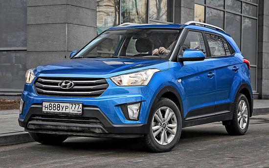 Hyundai Creta - один из самых продаваемые автомобилей в России для женщин