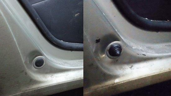 автомобильный концевик на дверях авто