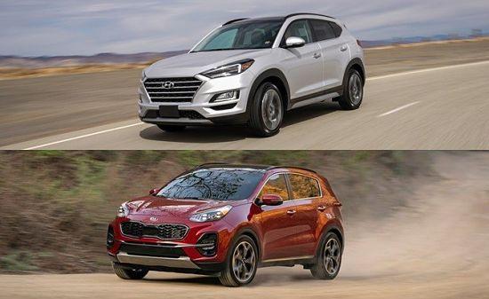 Kia Sportag vs Hyundai Tucson