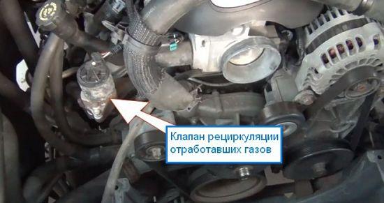 клапан рециркуляции выхлопных газов