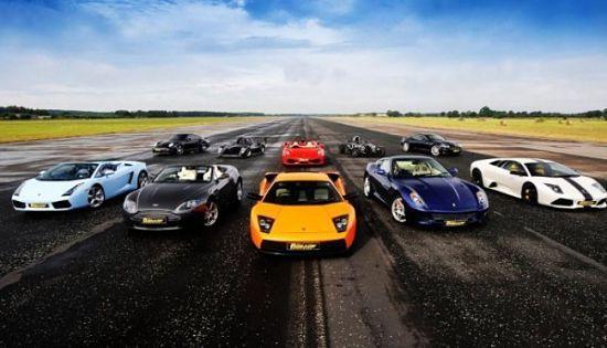 ТОП-10 самых быстрых машин планеты