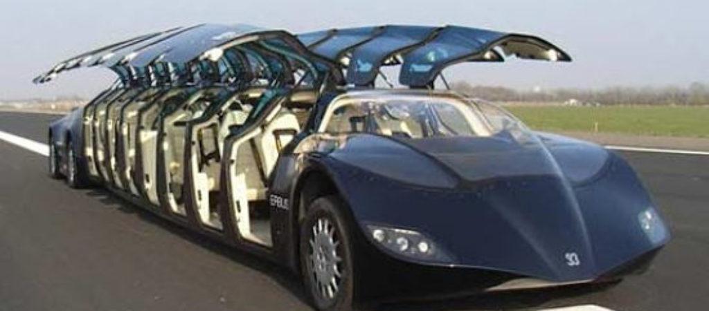 ТОП-10 самых крупных автомобилей
