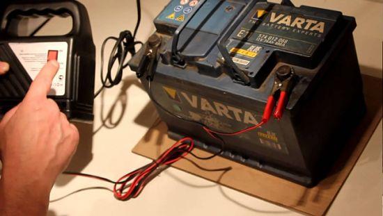 аккумулятор не заряжается зарядным устройством